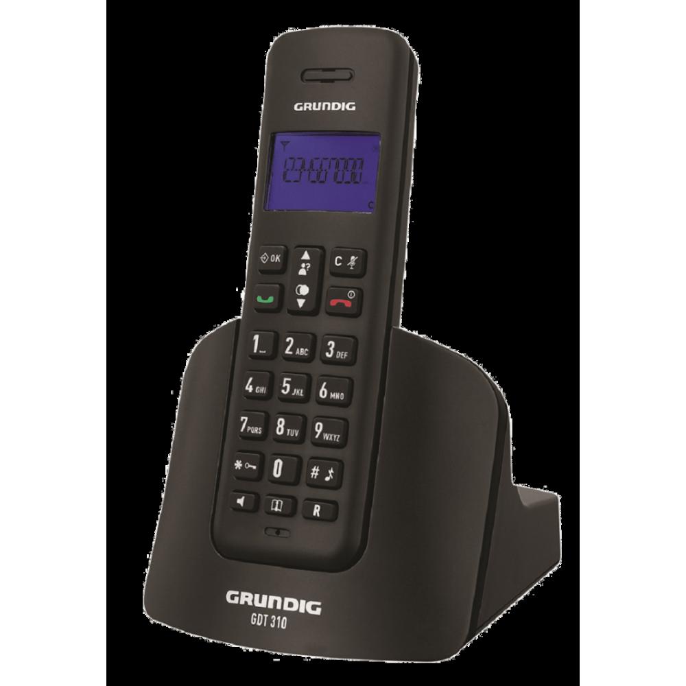 Grundig GDT 310 Siyah Telsiz Telefon
