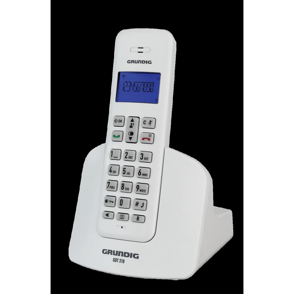 Grundig GDT 310 Beyaz Telsiz Telefon