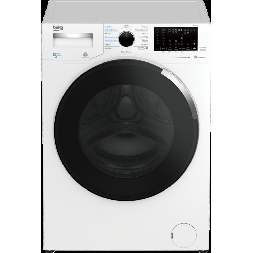 Beko BK 850 YK Kurutmalı Çamaşır Makinesi