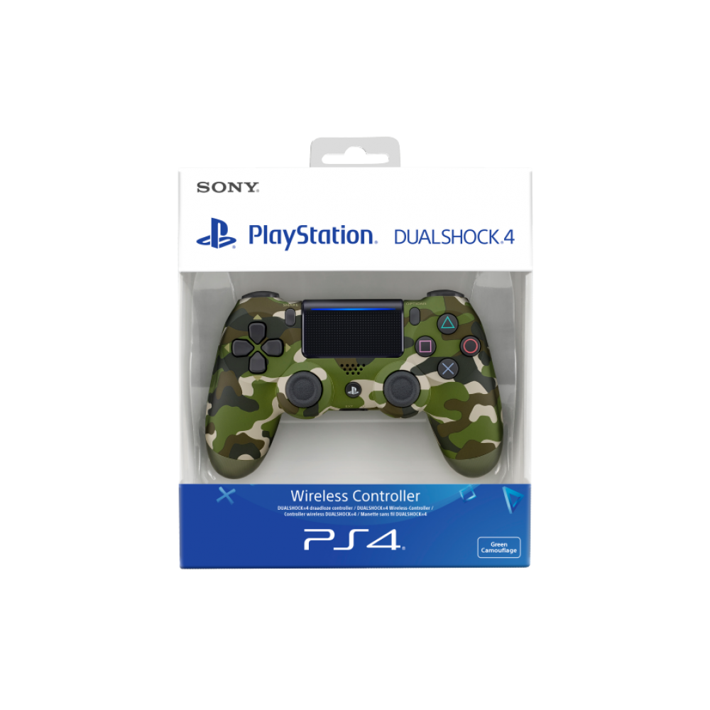 PS4 Dualshock Cont Green Cammo V2 Oyun Konsolu