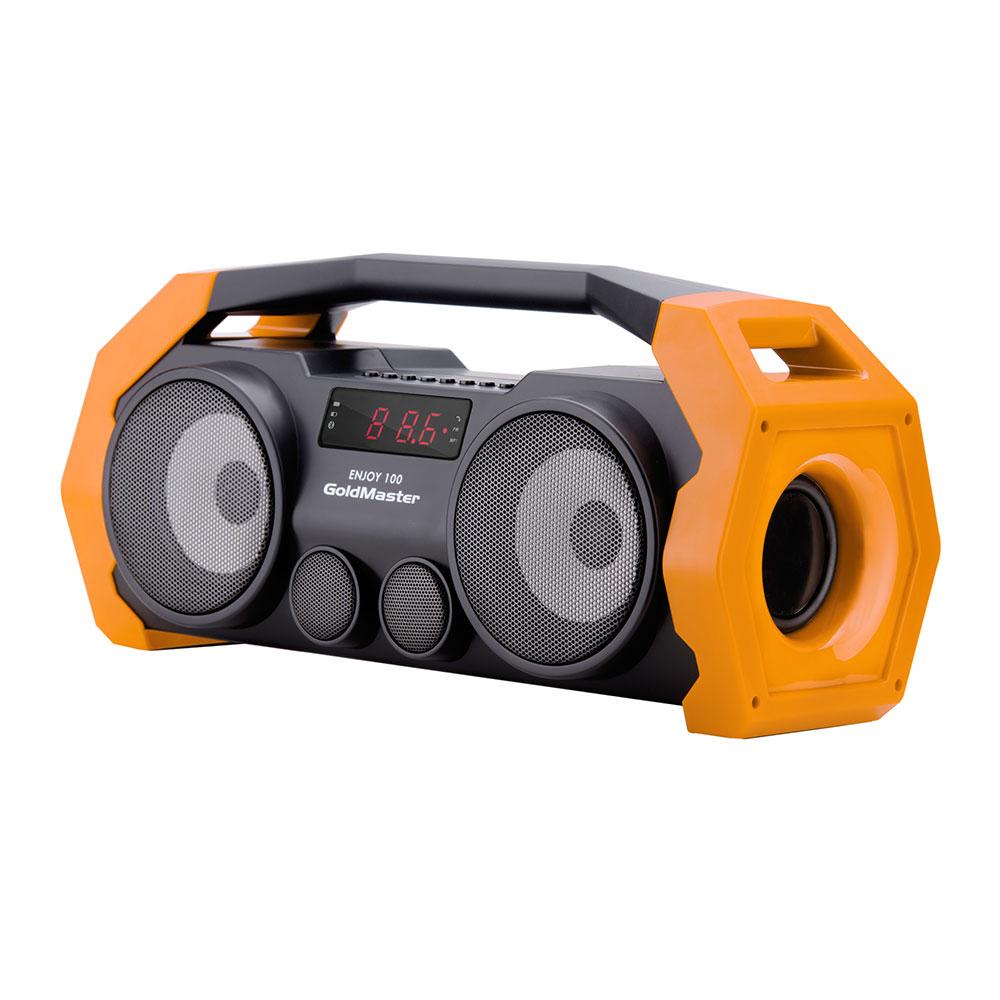 GoldMaster Enjoy-100 BT Speaker Sarı