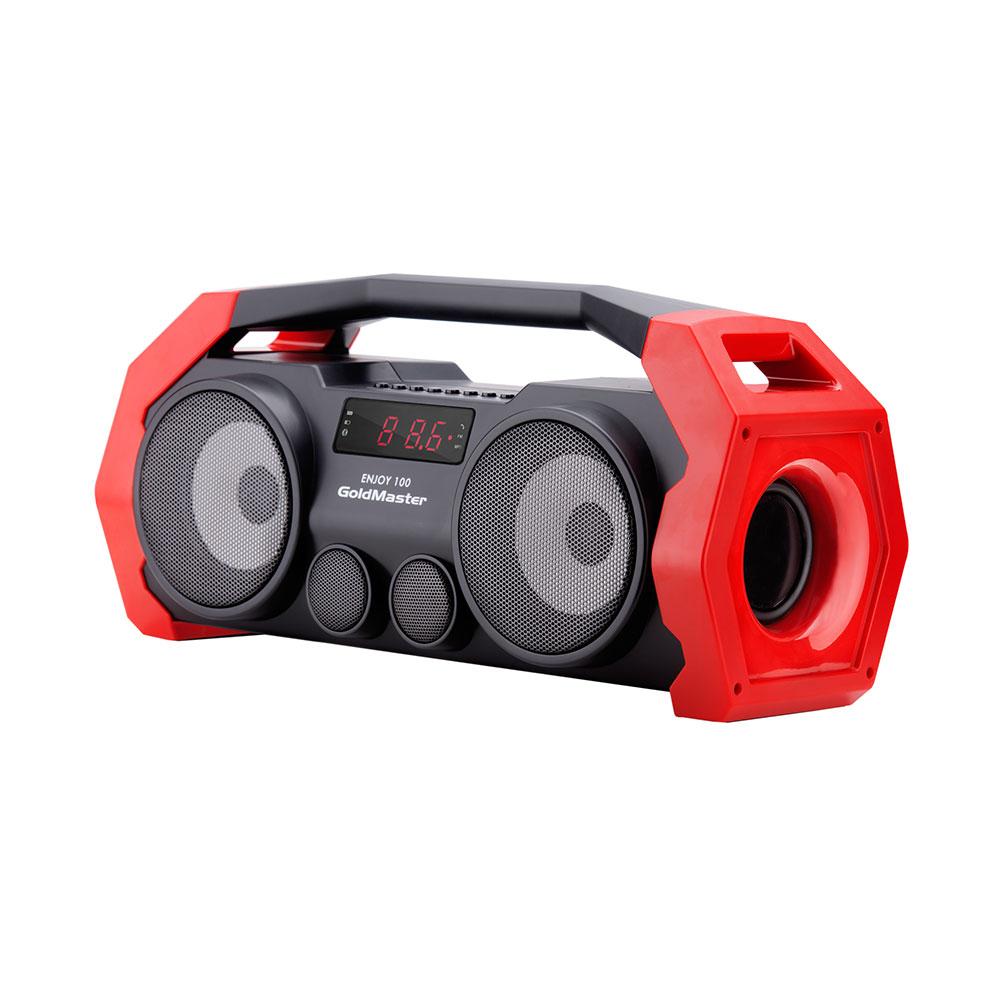 GoldMaster Enjoy-100 BT Speaker Kırmızı